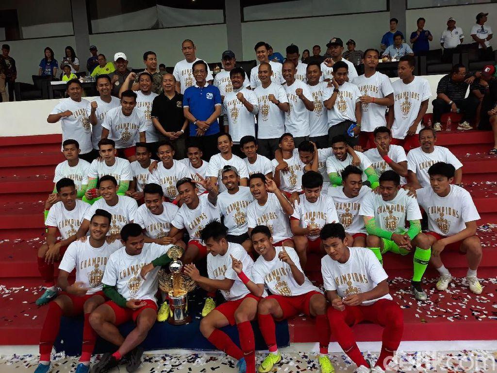 Tekuk Bali United dan PSIM, Timnas U-23 Juara Trofeo HB X Cup