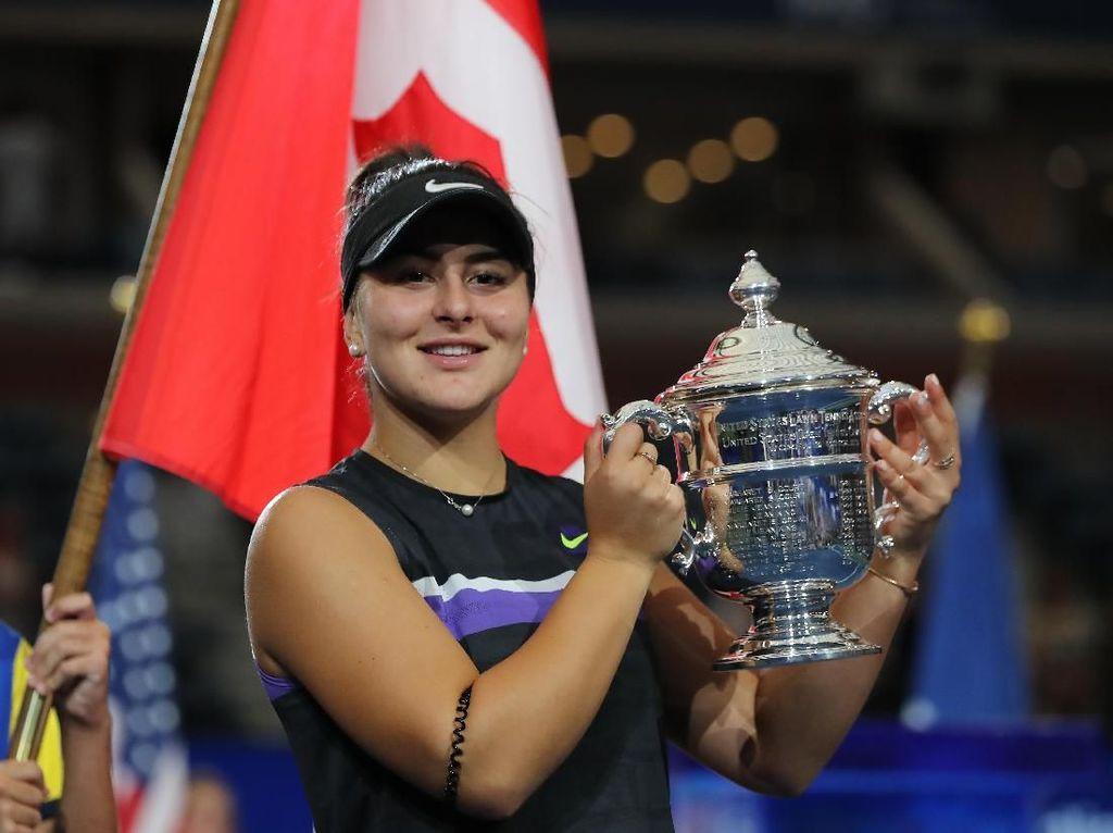 Tahun Dahsyat Bianca Andreescu: Dari Nomor 152 Dunia ke Juara AS Terbuka