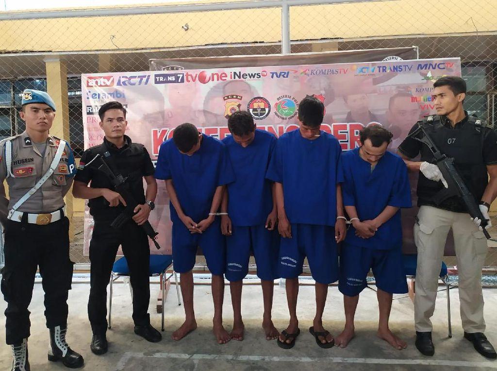 Kenalan di Penjara, 3 Residivis di Aceh Kerja Sama Jual Sabu