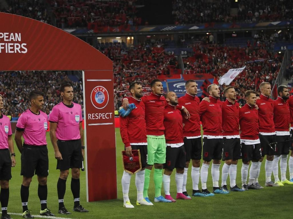 Hadapi Albania, Prancis Malah Setel Lagu Andorra
