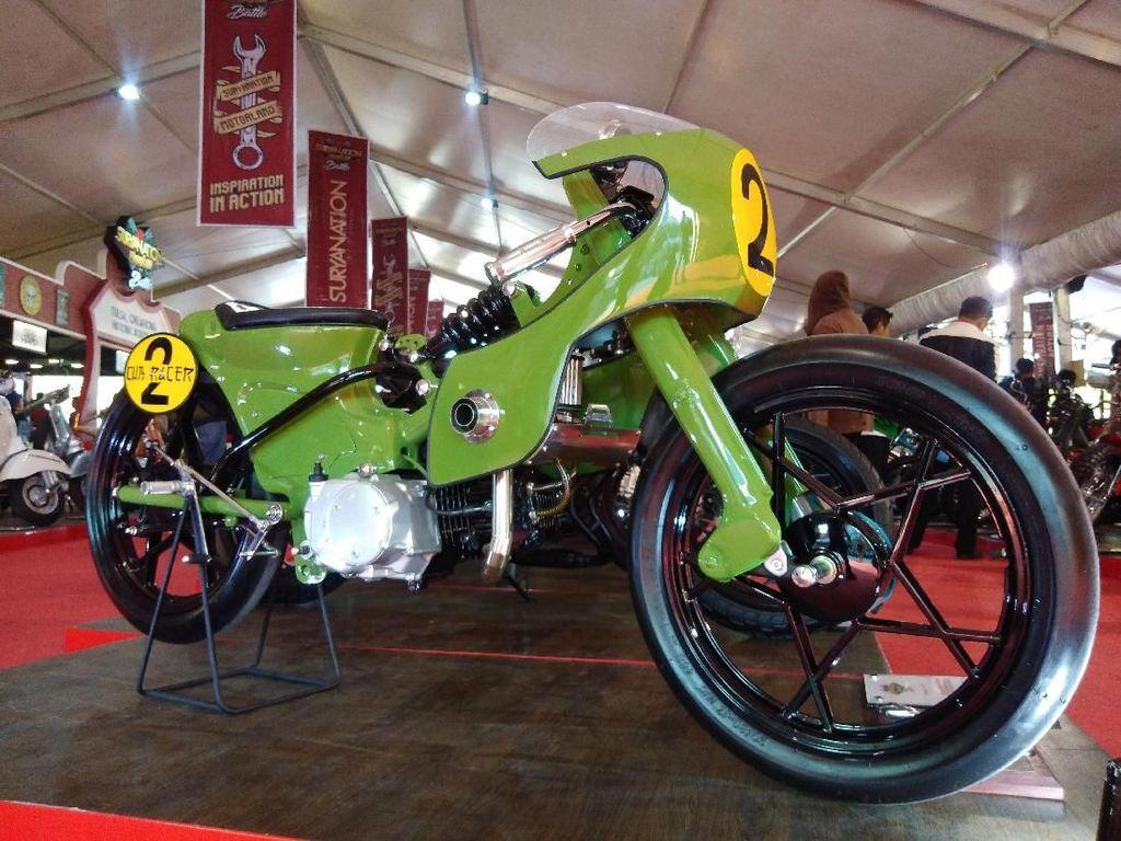 Honda Astrea Hijau Terinspirasi dari Kulkas
