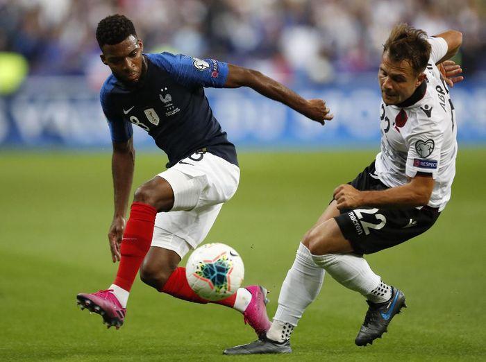 Timnas Prancis menang 4-1 atas Albania di Kualifikasi Piala Eropa 2020. (Foto: Christophe Ena/AP Photo)