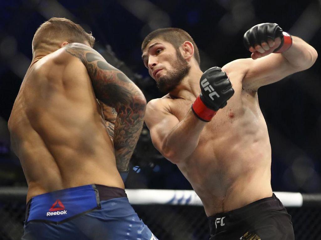 Hasil UFC 242: Khabib dan Islam Menang