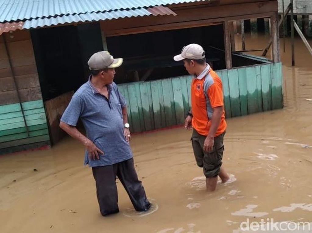 135 Rumah di Madina Terendam Banjir Akibat Luapan 2 Sungai