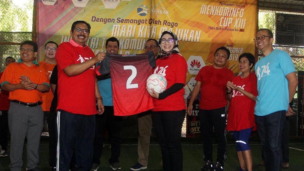 Futsal Hari Bakti Postel ke-74
