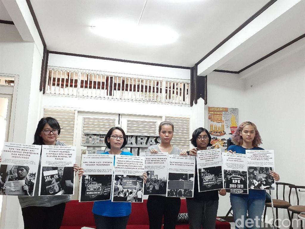 Koalisi Masyarakat Sipil Minta Jokowi Tolak Revisi UU KPK