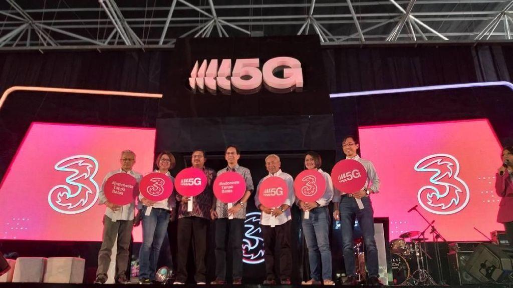 Jajal 5G, Kecepatan Internet Tri Tembus 1,2 Gbps