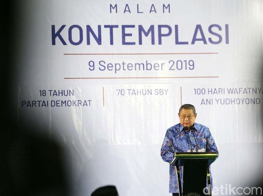 SBY: Pertama Kali di Sejarah Pemilu Kita Diwarnai Politik Identitas Berlebihan