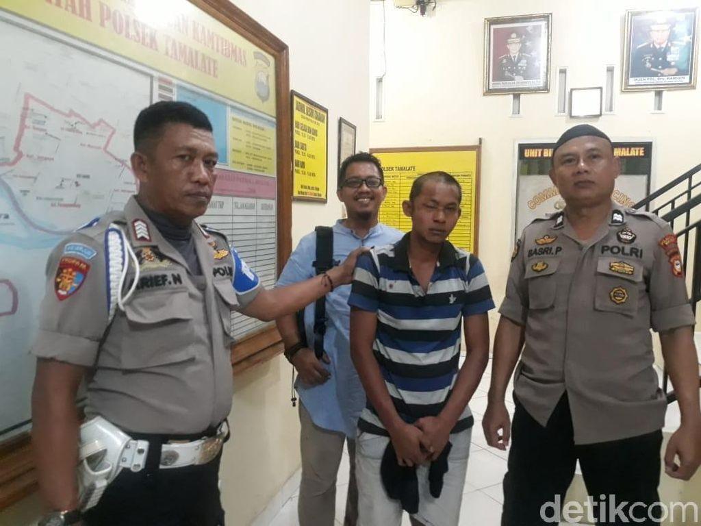 Tukang Parkir Pengeroyok Polisi di Makassar Ditangkap, 1 Buron