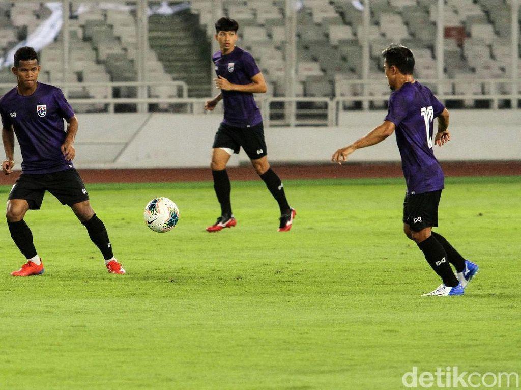 Asah Finishing, Begini Suasana Latihan Timnas Thailand