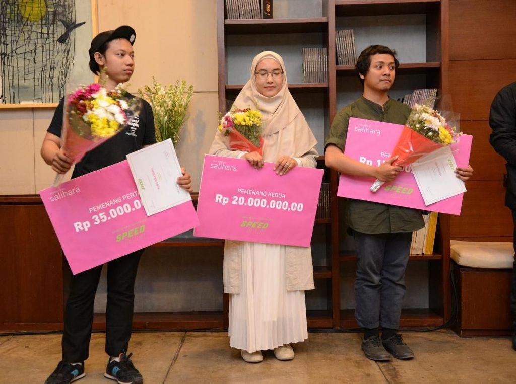 Wildan Indra Sugara Juara Kompetisi Karya Trimatra Salihara 2019