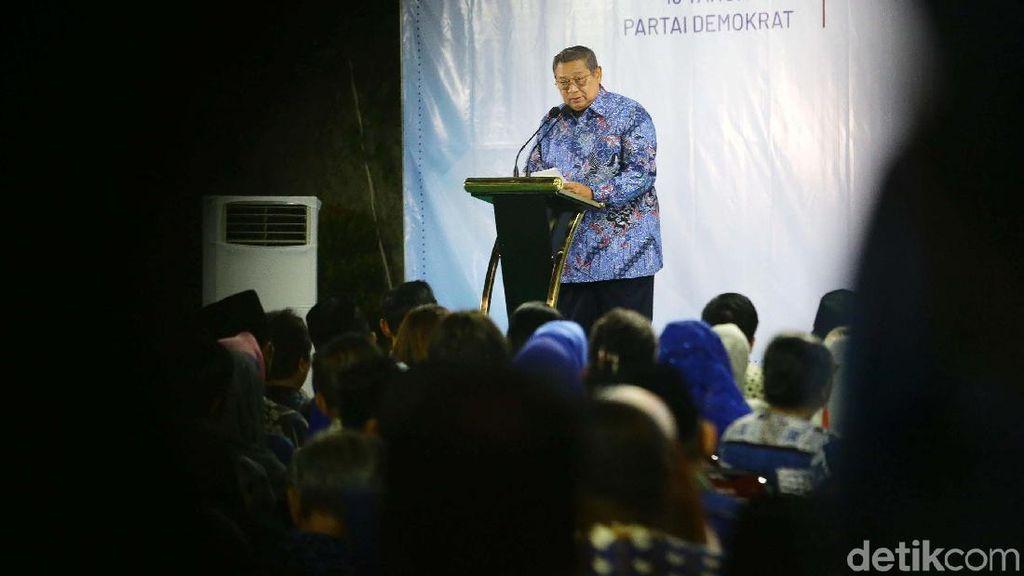 Momen SBY Sampaikan Pidato Kontemplasi