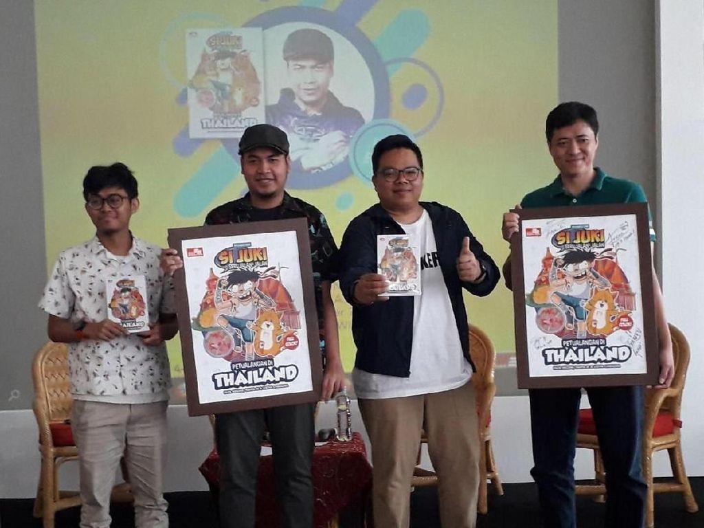 Komik Si Juki Bertualang di Thailand Resmi Terbit!