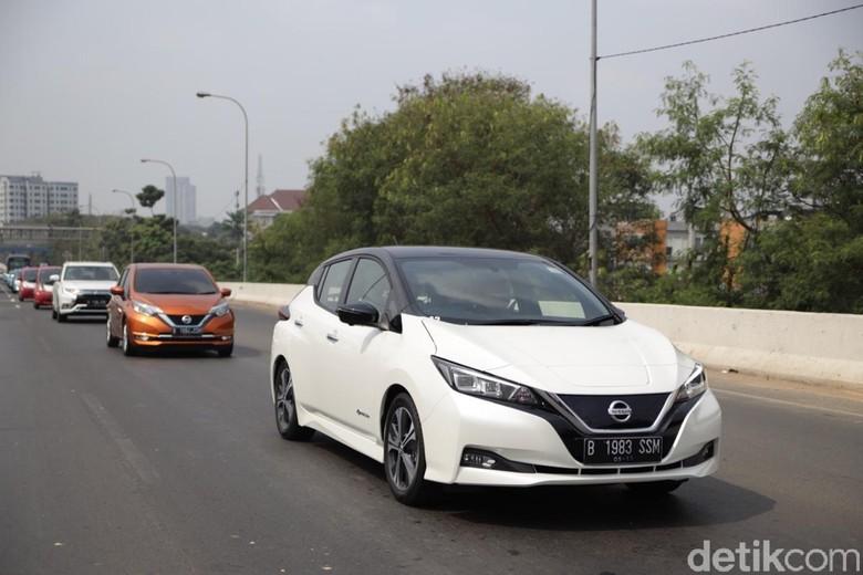 Nissan Leaf. Foto: Nissan Motor Indonesia