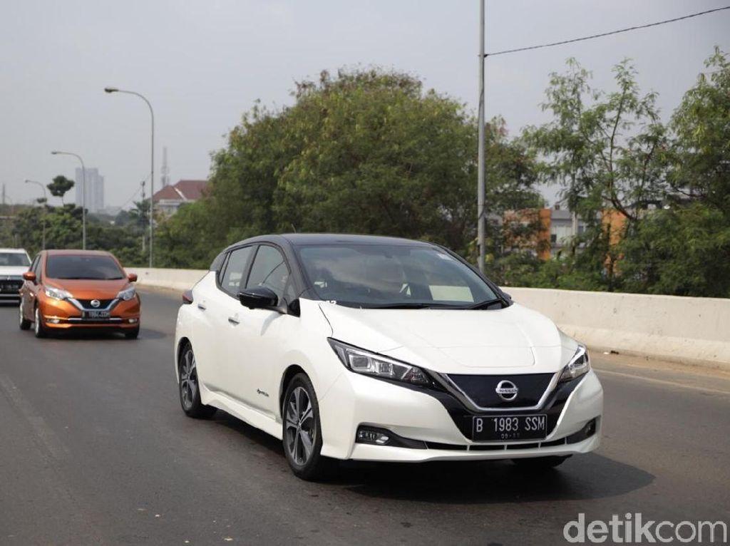 BBN-KB Jakarta Gratis, Kapan Nissan Leaf Meluncur ke RI?