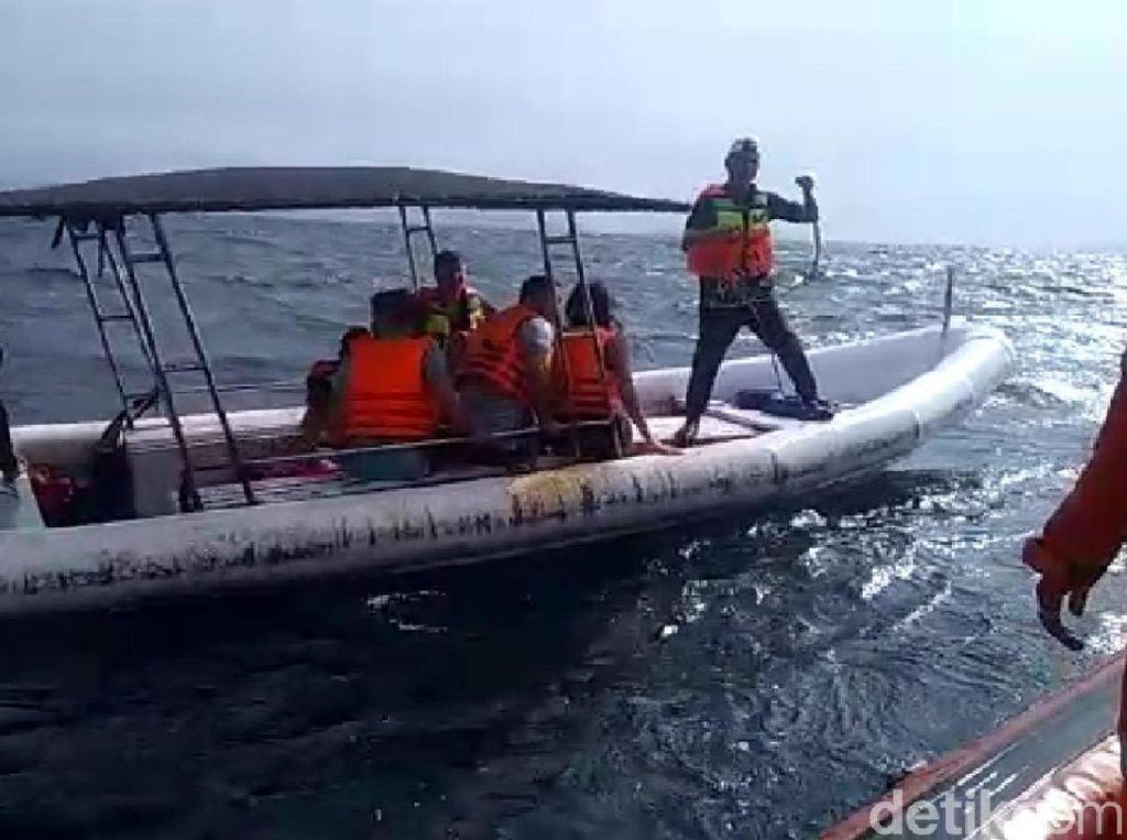 Boat Mati Mesin, 5 Warga Prancis Dievakuasi ke Banda Aceh