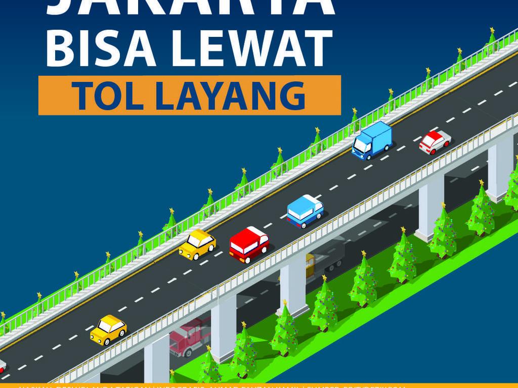 Tol Layang Jakarta-Cikampek Dibuka Gratis Natal 2019