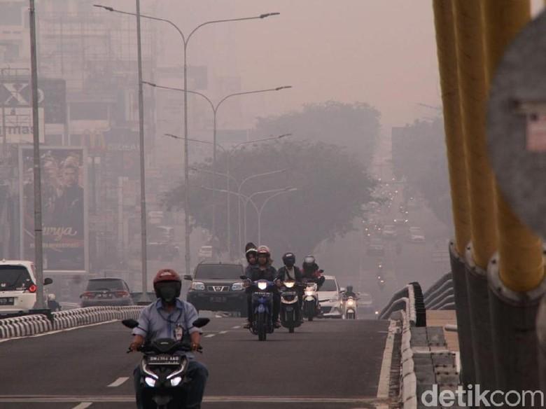 Disdik Riau Keluarkan Instruksi Sekolah Diliburkan Bila Asap Pekat