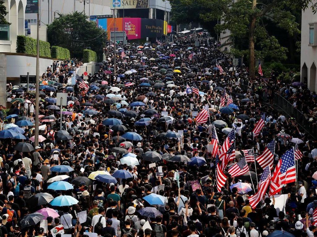 Pemimpin Hong Kong Ingatkan AS Jangan Ikut Campur Soal Aksi Demo
