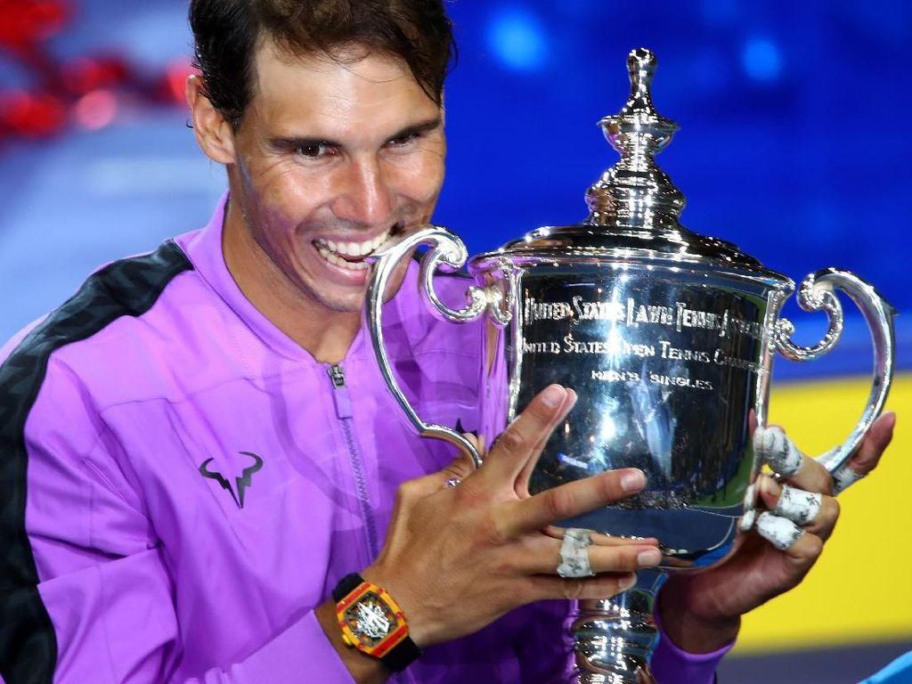 Foto: Jam Tangan Rp 10 M yang Nadal Pakai saat Menangi US Open 2019