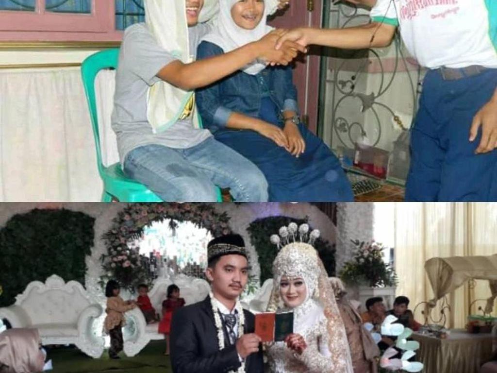 Awalnya Foto Bercanda, Pasangan Ini Beneran Nikah 6 Tahun Kemudian