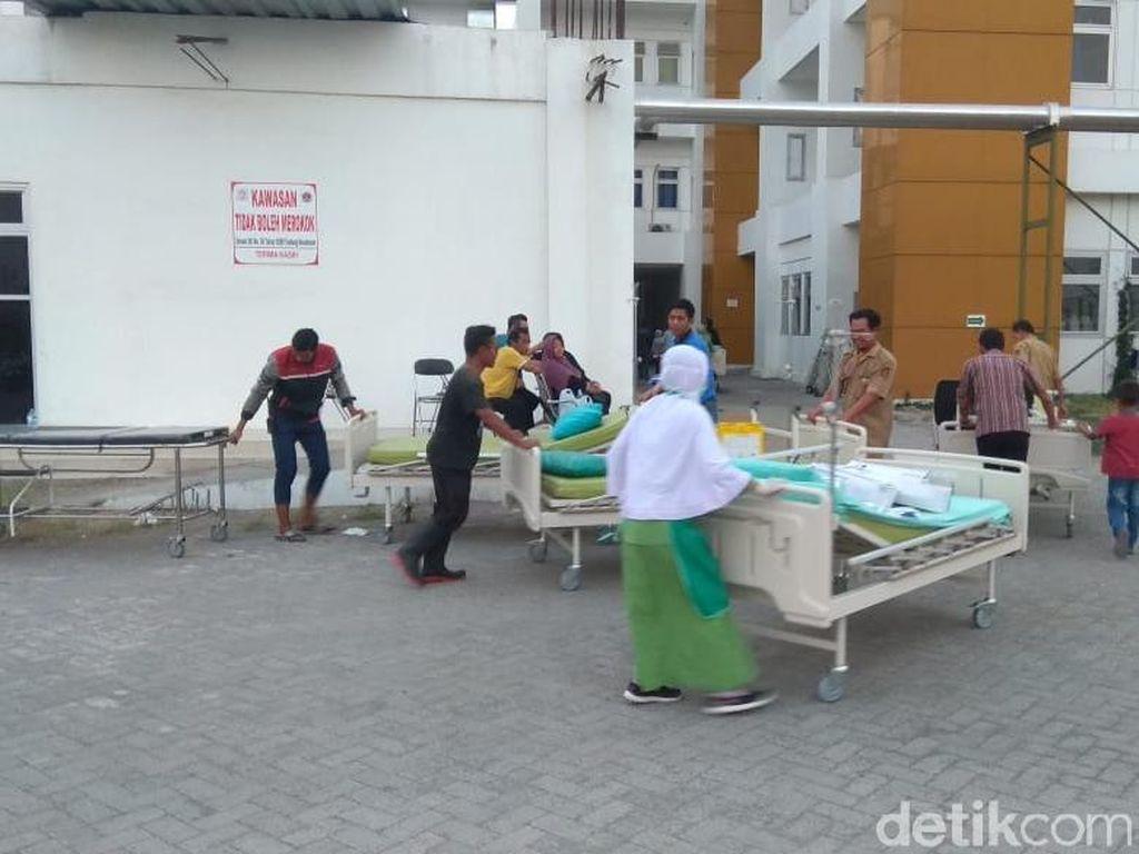 Laboratorium RSUD Gambiran 2 Kota Kediri Terbakar, 10 Pasien Dievakuasi