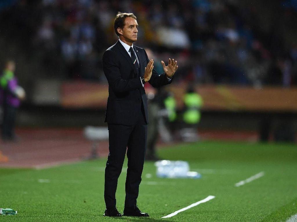 Antarkan Italia ke Piala Eropa 2020, Mancini Aman Bersama Azzurri