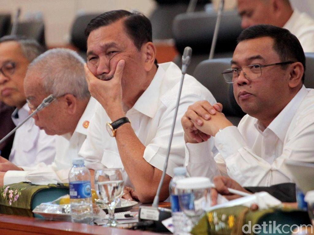 Sebagai Purnawirawan Jenderal, Luhut Sedih Ada Dugaan Korupsi di Asabri