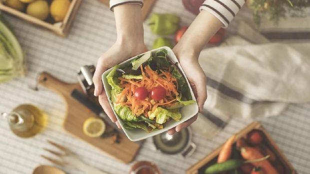 Ilustrasi makanan diet paleo
