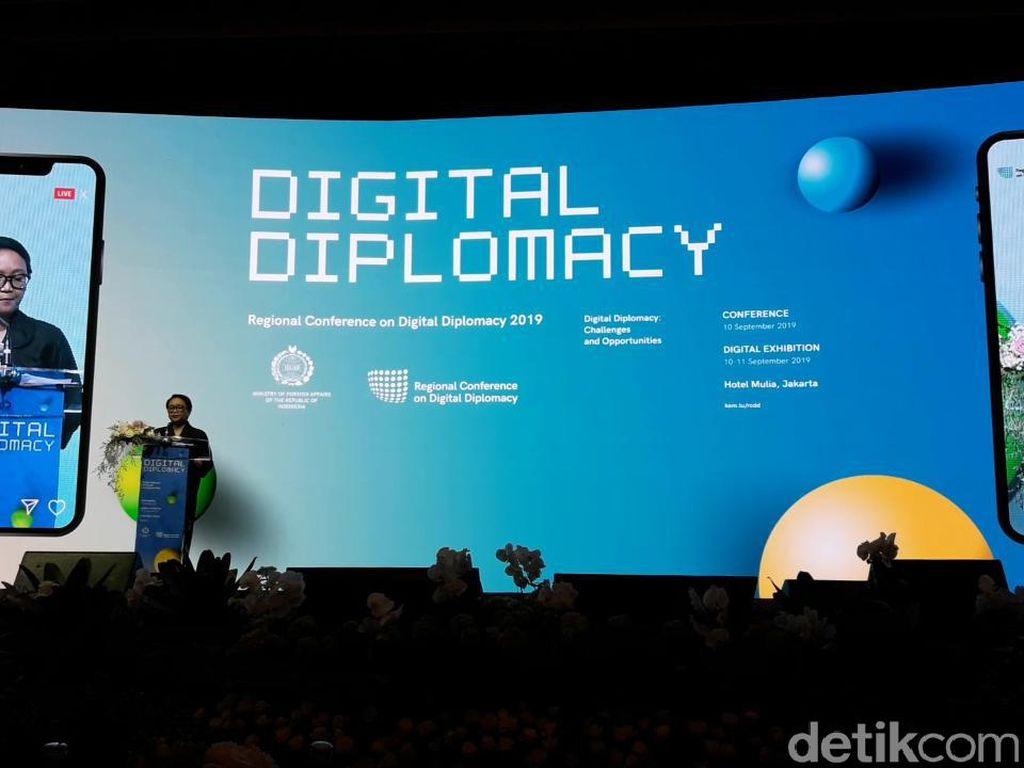 Menlu Bicara Pentingnya Diplomasi Digital untuk Kerja Sama Ekonomi