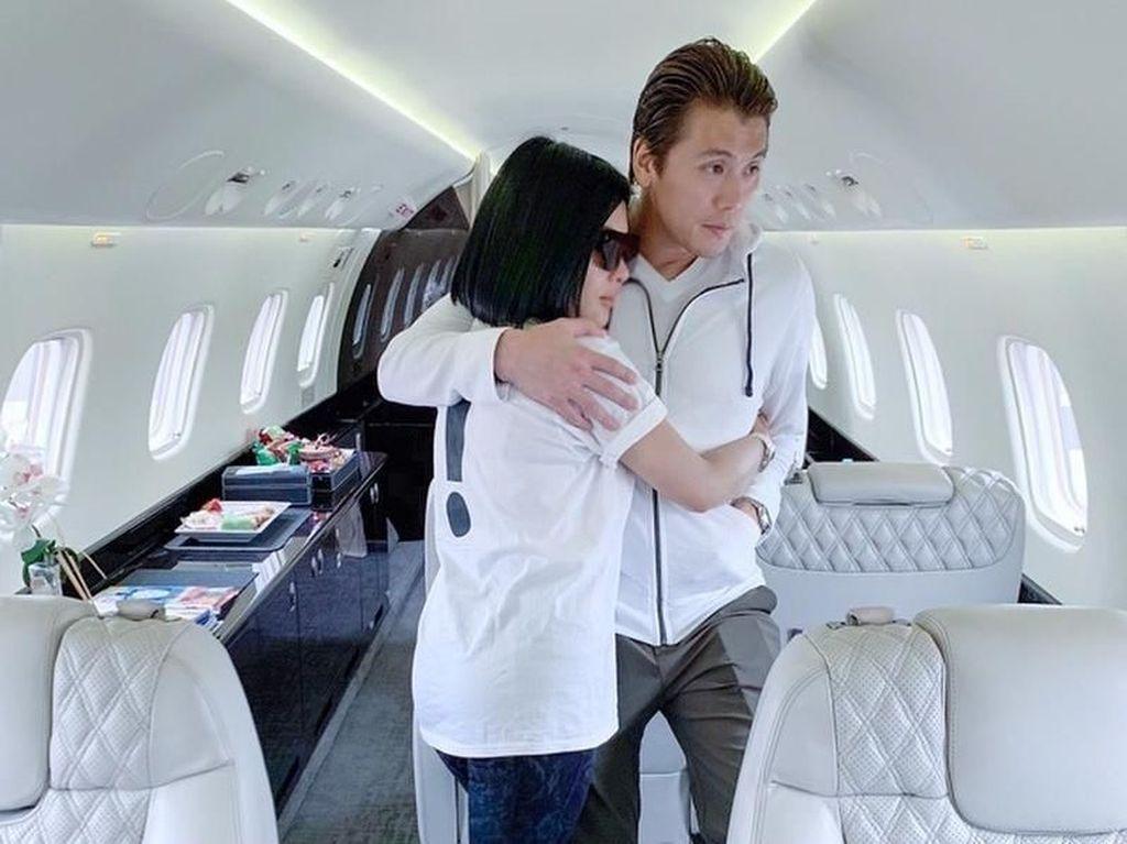 Alhamdulillah... Syahrini Nggak Perlu Lagi Sewa Pesawat Pribadi