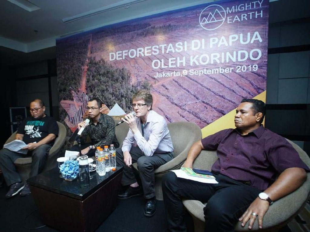 Organisasi Konservasi Alam Ungkap Temuan Deforestasi di Papua