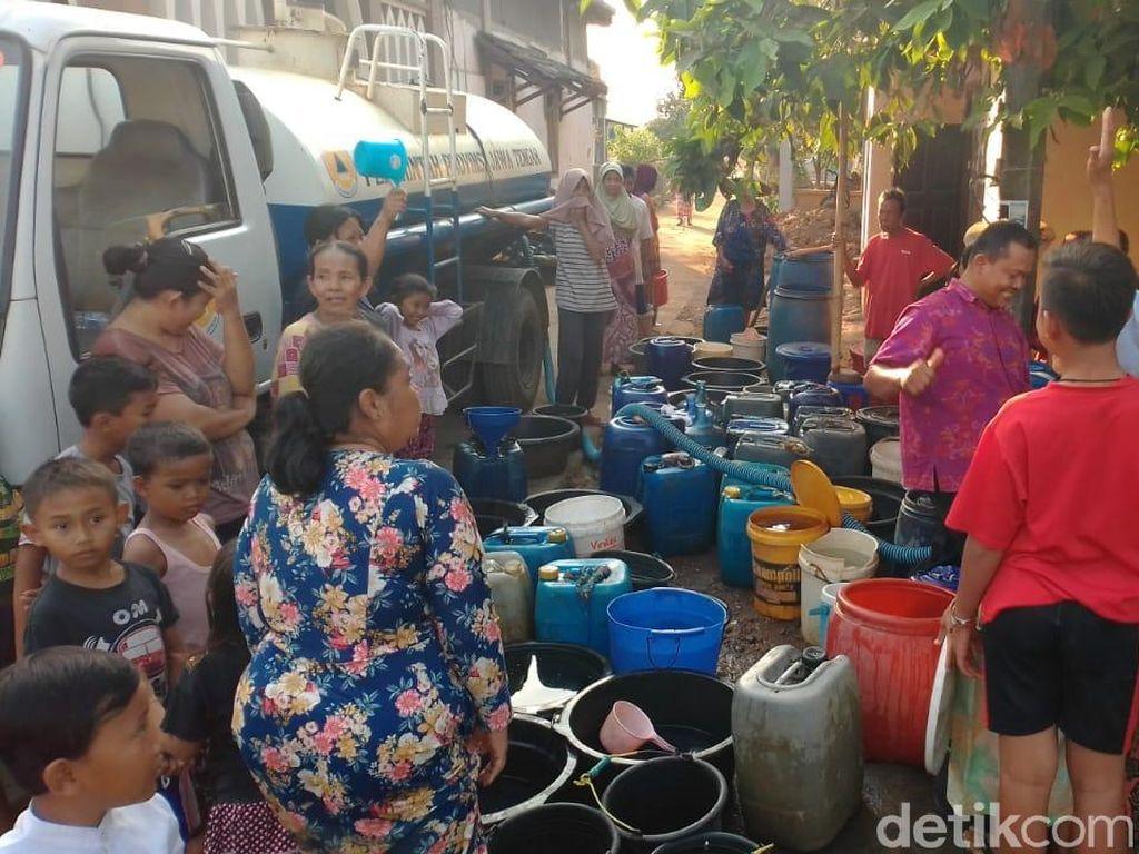 Cerita Warga di Jepara, Mandi Sehari Sekali Akibat Kekeringan