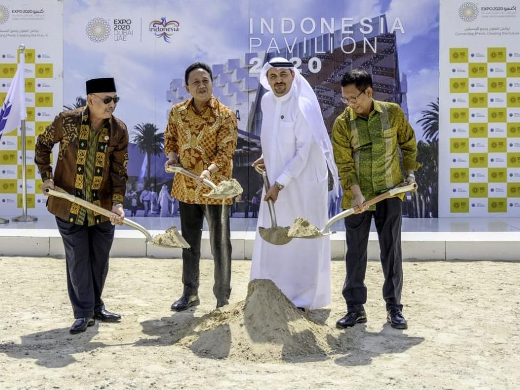 Paviliun Indonesia di Expo 2020 Dubai Dimulai