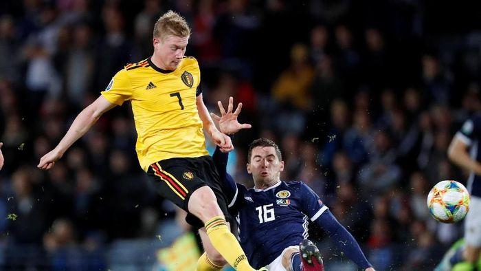 Belgia menang 4-0 atas Skotlandia. (Foto: Russell Cheyne/REUTERS)