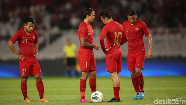 Indonesia hancur di dua laga Kualifikasi Piala Dunia 2019. (Foto: Agung Pambudhy)