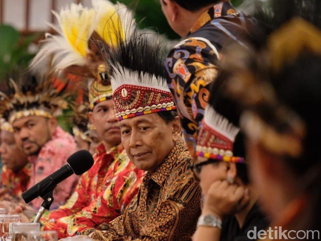 Jokowi Diminta Mekarkan Wilayah Papua, Wiranto: Masih Masukan