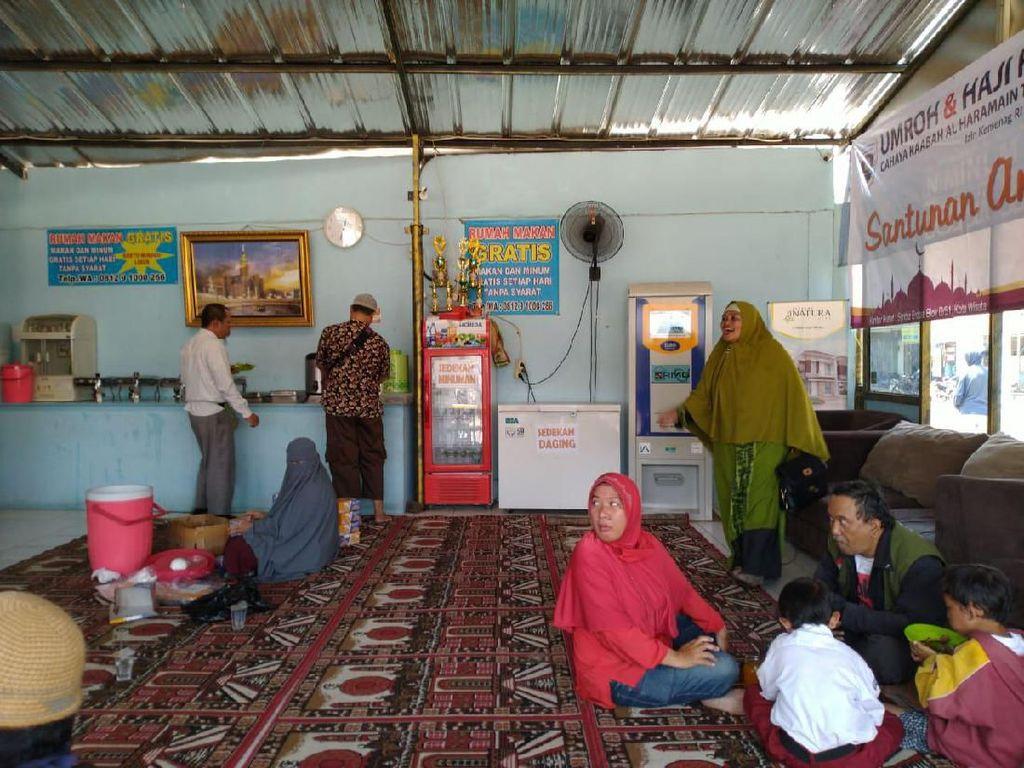 Ini Ciri-ciri Perampok di Rumah Makan Gratis untuk Duafa di Bogor