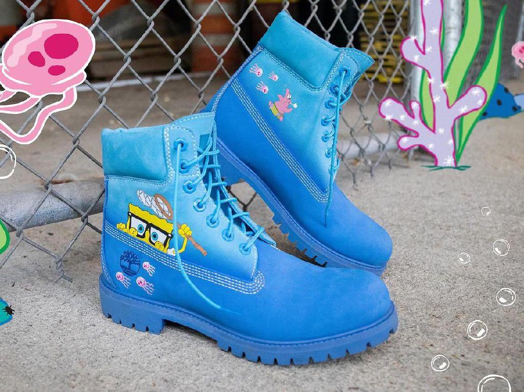 Timberland Rilis Boots Tema SpongeBob SquarePants