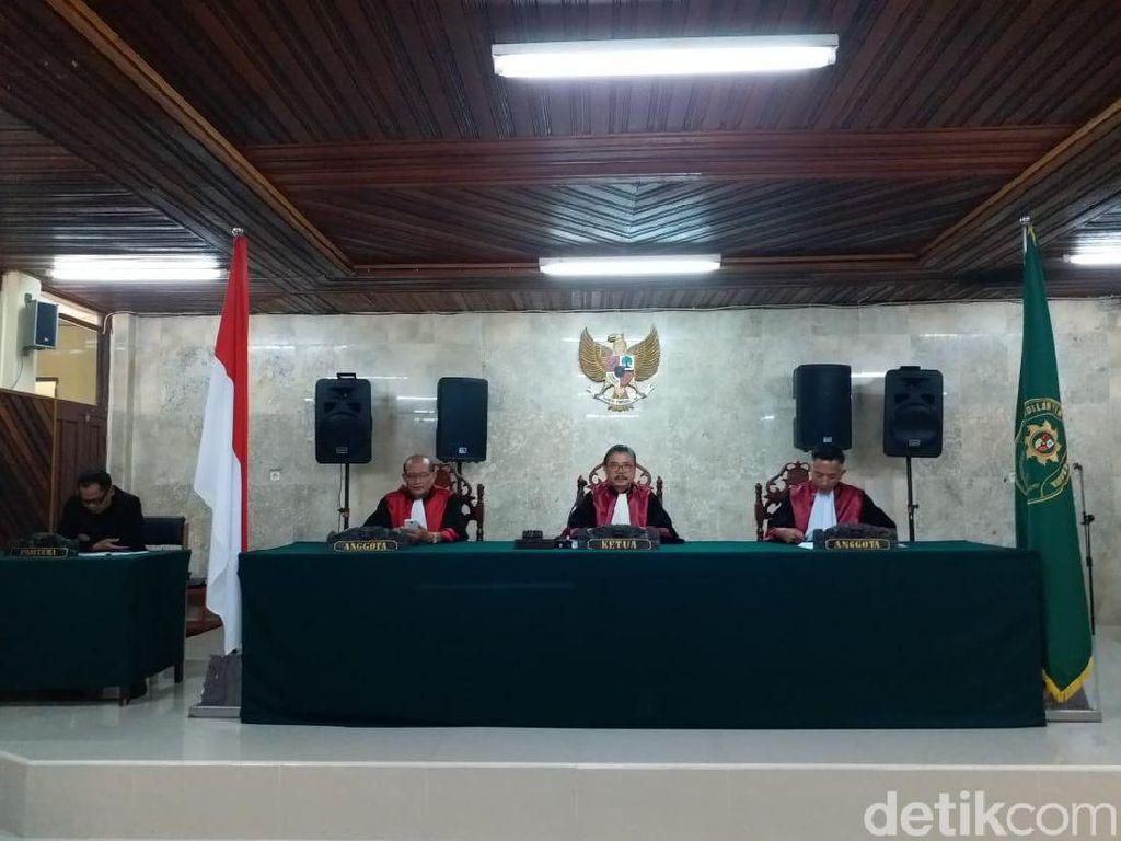 Banding Ditolak, Hak Politik Eks Bupati Katingan Dicabut Hakim