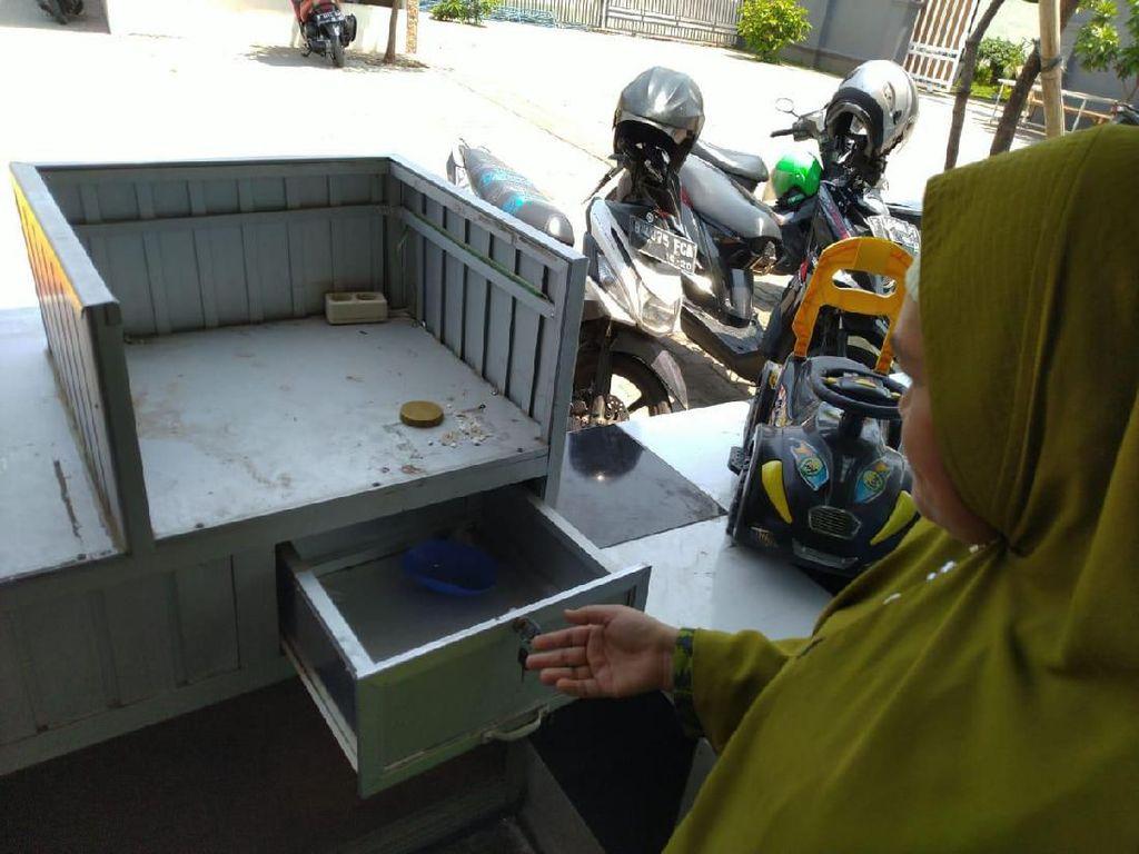 Kejar Perampok di RM Gratis untuk Duafa, Polisi Analisis CCTV
