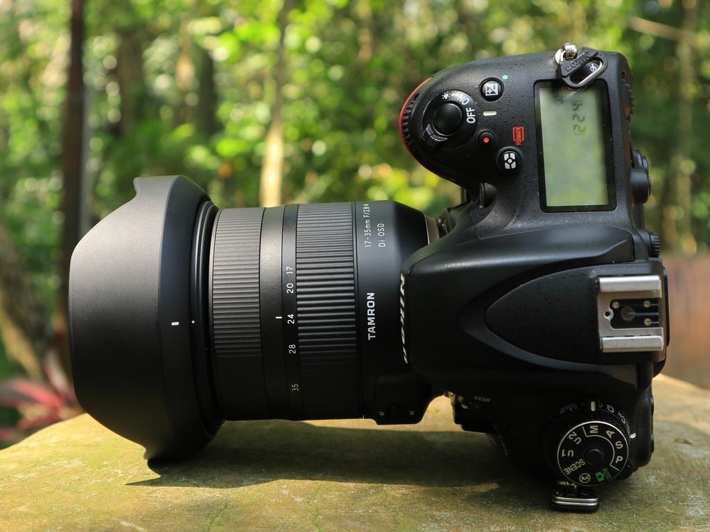 Mencoba Lensa lebar Tamron 17-35mm f/2.8-4 di OSD