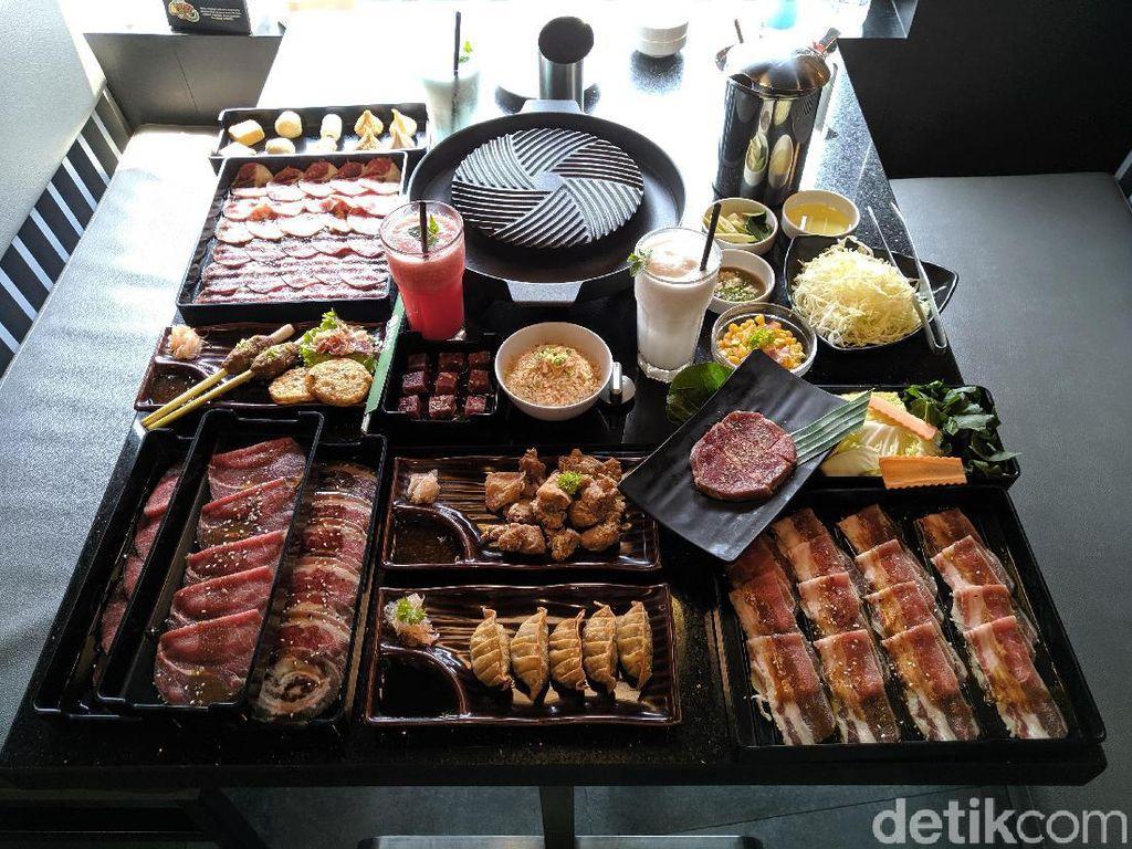 Puas! Makan BBQ dan Shabu-shabu Lebih dari 50 Menu