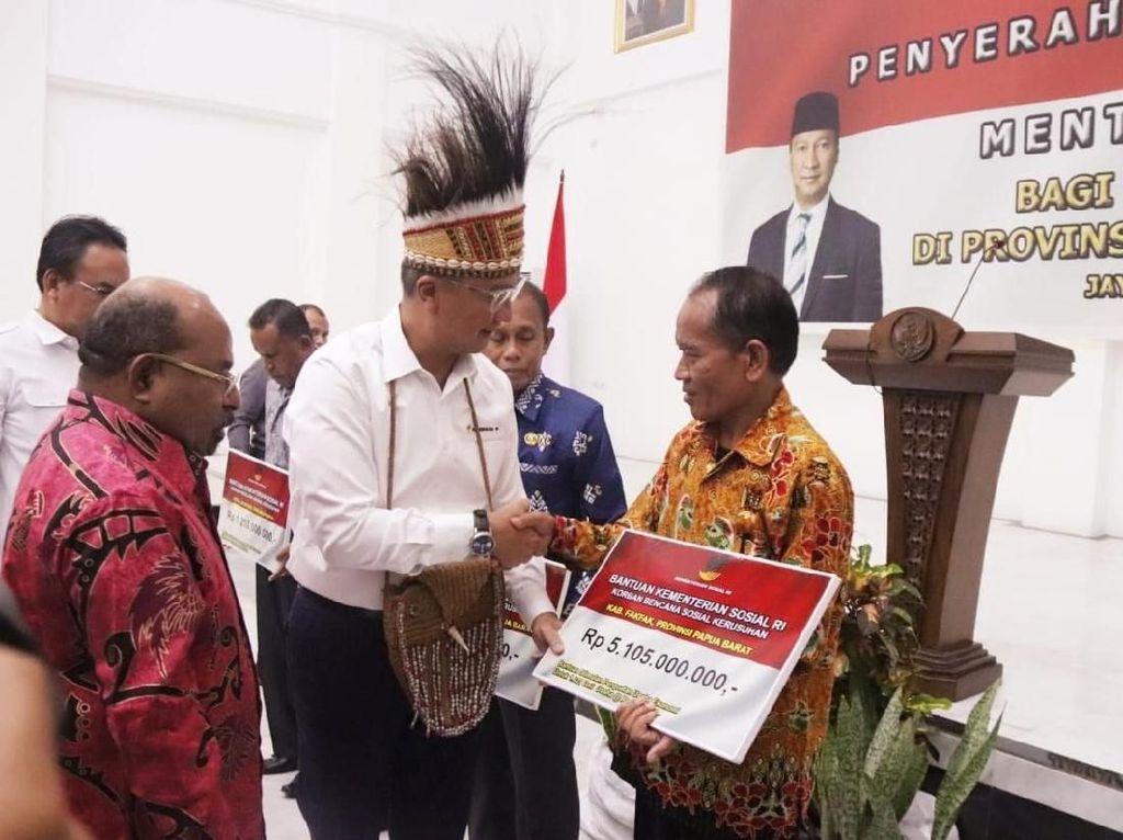 Kemensos Salurkan Rp 7,3 M bagi Korban Kerusuhan Sosial di Papua