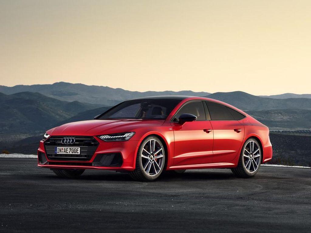 Audi Punya Sedan Hybrid Baru Ini