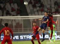 Minim Penyerang, Thailand Tetap Bisa Cetak Tiga Gol ke Gawang Indonesia