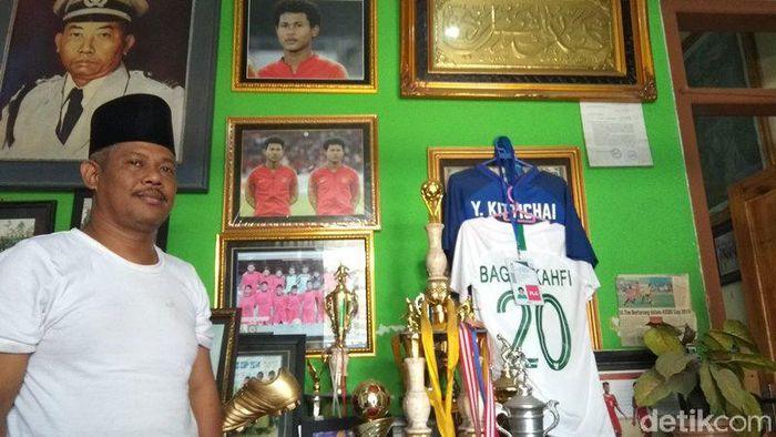 Amiruddin Bagus Kahfi Alfikri dan Amirudin Bagas Kaffa Arrizqi, Yuni Puji Istiono. (Foto: Eko Susanto/detikcom)