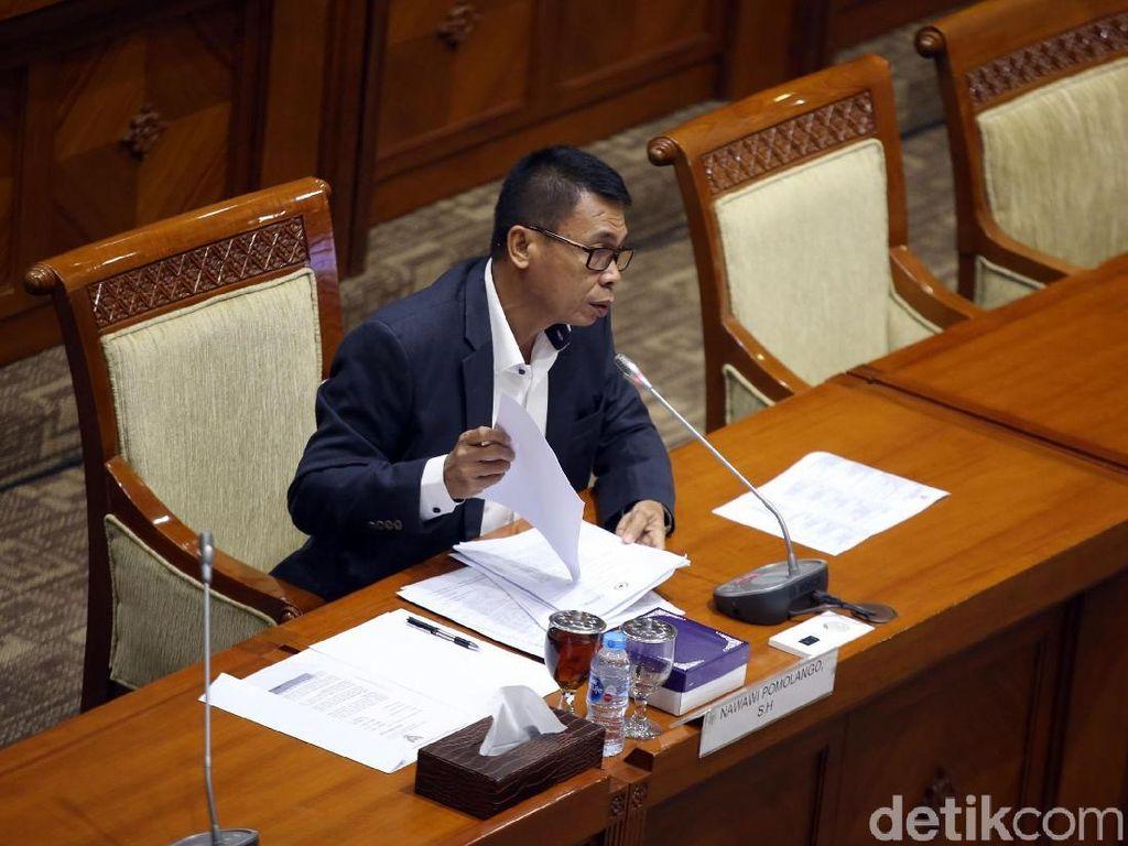 Disebut Omong Kosong, Capim KPK Nawawi Singgung Saut Lobi Desmond