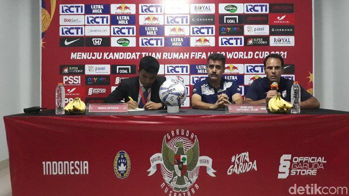 Timnas Iran U-19 kalah dari Indonesia U-19 di laga uji coba (Foto: Pradito Rida Pertana)