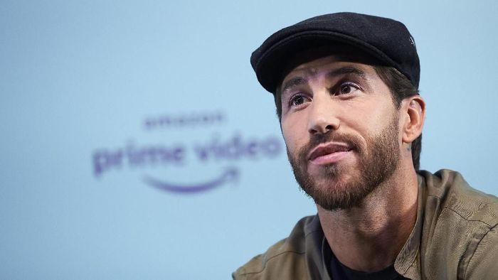 MADRID, SPAIN - SEPTEMBER 10: Sergio Ramos attends